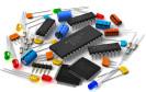 Verschiedene Elektro-Bauteile