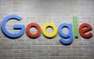 Google-Logo auf Steinmauer