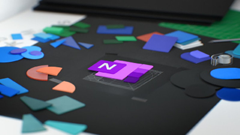 Microsoft Office Icon OneNote