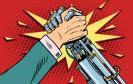 Zusammenarbeit mit Roboter