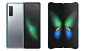 Samsung Galaxy Fold front and back