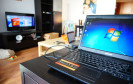 Notebook mit Windows 7
