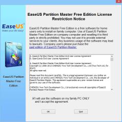 Die Easeus Partition Master Free Edition ist für private Anwender kostenlos. Gewerblich Nutzer erhalten die Pro Edition des Partitionsmanagers für 40 US-Dollar auf der Website des Herstellers.