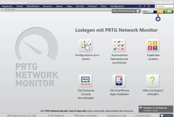 PRTG Network Monitor nutzt HTML-Seiten, um seine Funktionen und Ergebnisse in einem Webinterface ansprechend zu präsentieren.
