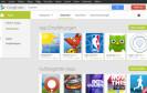 Google hat die Webseite des Google Play Stores überarbeitet und ihr einen neuen Anstrich gegeben. Ein neues Menü auf der linken Seite wechselt je nach Rubrik in ein passendes Untermenü.