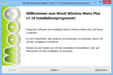 Windows Menu Plus ergänzt das Systemmenü eines Fensters um nützliche Zusatzfunktionen. Nach der Installation und dem ersten Programmstart lässt sich das Tool im System-Tray nieder, wo Sie per Rechtsklick auf sein Icon in die Konfiguration gelangen.
