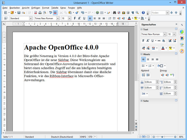 Apache openoffice 4 0 0 erschienen com professional - Apache open office download ...