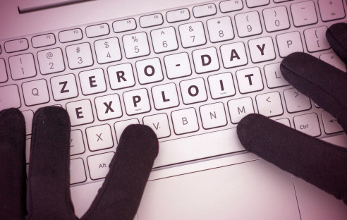 Zero Day Exploit on Keyboard