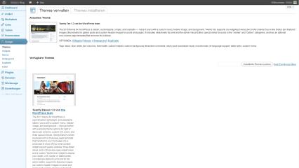 In Ihrem Webspace konfigurieren Sie WordPress über ein Online-Interface (Bildquelle: Wikipedia)
