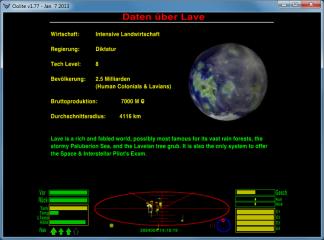 Eine deutsche Übersetzung steht ebenfalls als OXP-Erweiterung zur Verfügung