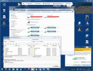 Während des Fernzugriffs mit Teamviewer lassen sich alle Anwendungen nutzen, die auf dem entfernten PC laufen. Zudem können Sie zwischen den beiden PCs Dateien übertragen.