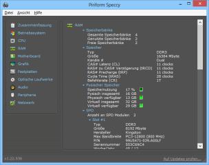 Speccy liefert eine umfangreiche Hardware- und Statusübersicht Ihres PCs und macht dabei genauere Angaben als Windows mit seinen Bordmitteln.