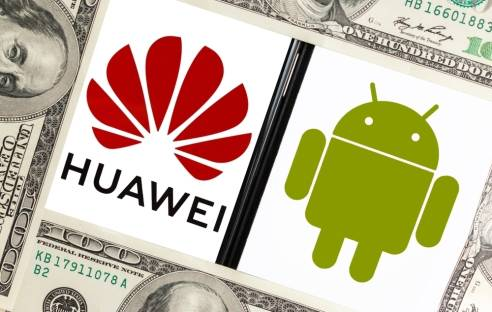 Huawei und Android Logo