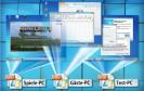 Installieren Sie Windows in einer VHD-Datei. Diese VHD-Datei kopieren Sie dann, so oft Sie wollen. So erhalten Sie beliebig viele PCs zum Testen, zum Surfen, zum Spielen, für Gäste…