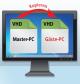 Master-PC kopieren: Eine VHD-Datei, in der Windows installiert ist, können Sie einfach kopieren, um weitere PCs zu erhalten, etwa einen PC für Gäste