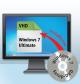 Windows 7 Ultimate in der VHD installieren: Sie installieren Windows 7 Ultimate in der gerade erstellten VHD-Datei. Diese Installation nennen wir Master-PC.