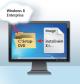 """Vorläufige Setup-DVD zusammenstellen: Sie laden Windows 8 Enterprise herunter, extrahieren die ISO-Datei und integrieren die """"install.wim"""" aus der Recovery-Partition."""