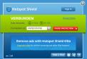 Hotspot Shield schützt Ihr Notebook und Ihre Daten durch eine verschlüsselte, anonymisierte VPN-Verbindung, wenn Sie über einen unverschlüsselten, öffentlichen WLAN-Hotspot im Internet surfen.