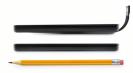 Die Standard-Hülle des Sony PRS-T3 Reader (mitte) hat keine Leseleuchte. Für 49 Euro ist allerdings auch eine Reader-Hülle mit integrierter LED-Leseleuchte erhältlich (oben).