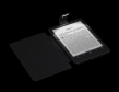 Die Reader-Hülle mit LED-Leseleuchte leuchtet das HD-Display (758 x 1024 Bildpunkte - 212 ppi) gut aus, allerdings ist die Lichtverteilung nicht so gleichmäßig wie bei E-Book-Readern mit integriertem Leselicht.