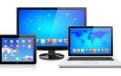 In immer weniger deutschen Haushalten steht ein Desktop-PC. Stattdessen setzen die Deutschen auf mobile Computer wie Notebooks und Tablet-PCs.