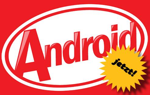 neue version android installieren