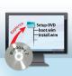 2. Setup-DVD für Windows 7 kopieren: Sie kopieren den Inhalt einer Setup-DVD auf Ihre Festplatte. Wenn Sie keine DVD haben, entpacken Sie eine ISO-Datei von Microsoft.