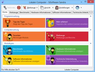Das Analyseprogramm Sisoftware Sandra zeigt Ihnen an, welche Hardware im PC steckt und welche Funktionen die Komponenten beherrschen.