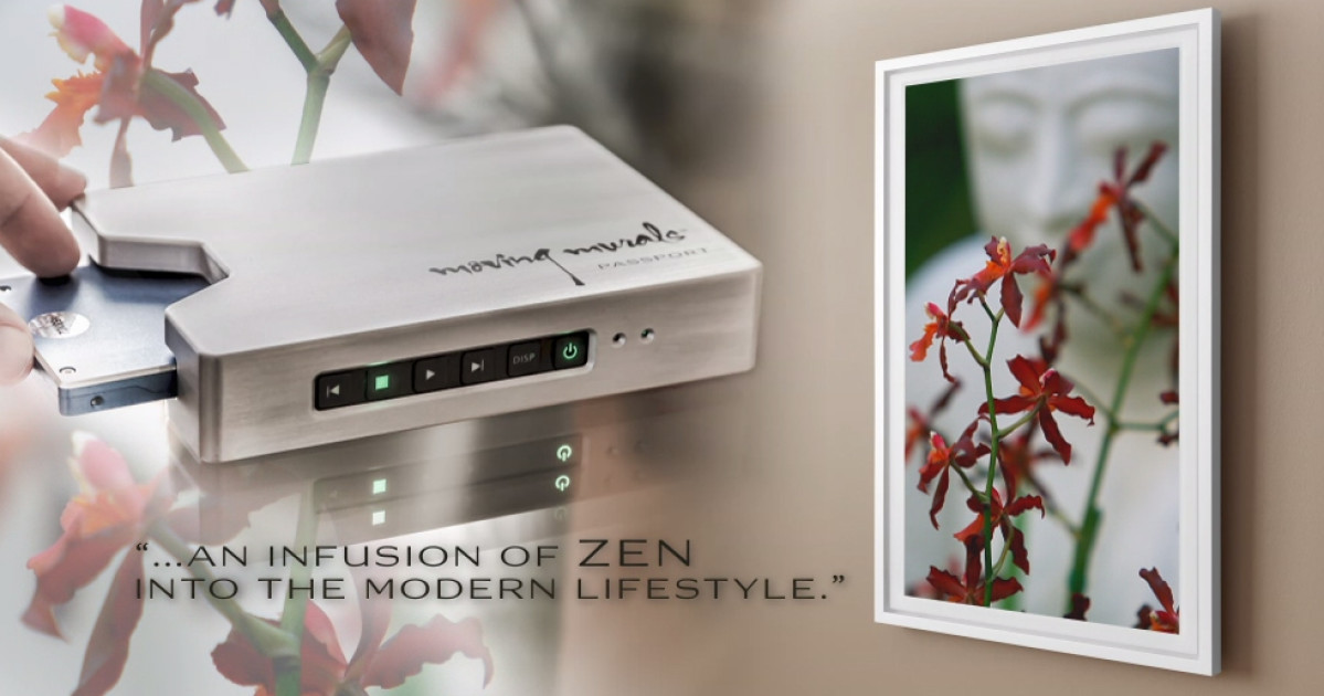 4k displays als digitale bilderrahmen com professional. Black Bedroom Furniture Sets. Home Design Ideas