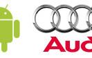Google und Audi: Android im Auto