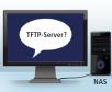 2. Der PC sucht einen TFTP-Server