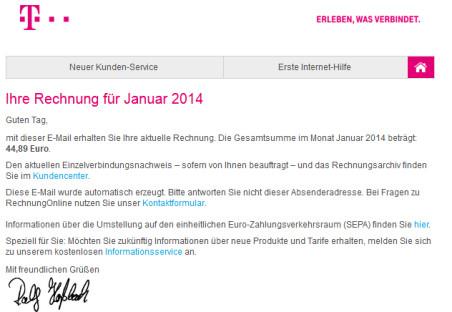Telekom Warnt Vor Gefälschten Rechnungen Com Professional