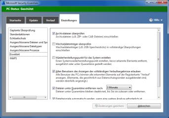 Microsoft stellt Anwendern mit XP, Vista oder Windows 7 mit Security Essentials ein kostenloses Antivirenprogramm zur Verfügung. Der Virenscanner bietet Echtzeitschutz und On-Demand-Scans.