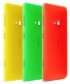 Durch unterschiedliche Wechselschalen lässt sich die Optik des Nokia Lumia 625 bequem angepassen.