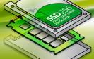 SSDs haben derzeit eine maximale Übertragungsrate von bis zu 500 MByte/s beim Lesen und Schreiben. Neue Techniken steigern die Transferraten auf über 5000 MByte/s.