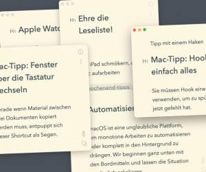 Mac-Tipp: Fenster über die Tastatur wechseln