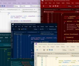Neue Visual Studio Themes