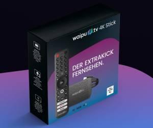 Waipu.tv bringt eigenen Stick für TV-Streaming
