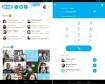 Skype - zählt zu den beliebtesten Messengern und bietet seinen Nutzern VoIP-Telefonie, Gruppen- und Video-Chats sowie Datei-Sharing auf Smartphones, Tablets und PCs.