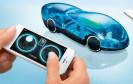 Das i-H2GO-Racer ist ein Ultraleicht-Modellauto mit eingebauter Brennzelle und Smartphone-Fernsteuerung. Auch eine Wasserstofftankstelle wird mitgeliefert.