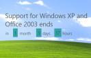 Am 8. April endet der Support für Windows XP. Ein Hinweisfenster soll die Anwender noch einmal deutlich auf das Ende des Supports hinweisen. Zudem gibt es eine kostenlose Software für den Umstieg.