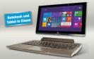 Tablet? Oder Notebook? Das Medion Akoya P2212T ist beides. Bei Aldi Nord ist das Detachable mit Windows 8.1 und 11,6-Zoll-Display ab dem 7. April für 400 Euro zu haben.