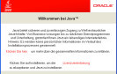 Empfehlung: Java 6 Update 21 installieren