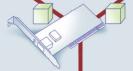 Netzwerkkarte: Die Netzwerkkarte erkennt dank Wake-on-LAN-Technik das magische Paket und löst eine Befehlskaskade für den PC-Start aus.