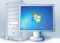 PC wird gestartet: Sie bedienen ihn dann über das Internet, als säßen Sie direkt davor. Das geht dank Teamviewer Host, das vorab auf dem PC installiert wurde.