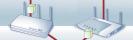 Router: Der vorab konfigurierte Router leitet das magische Paket an die Netzwerkkarte im PC (links). Die Fritzbox akzeptiert keine magischen Pakete. Die Box schickt stattdessen selbst ein magisches Paket an den PC (rechts).