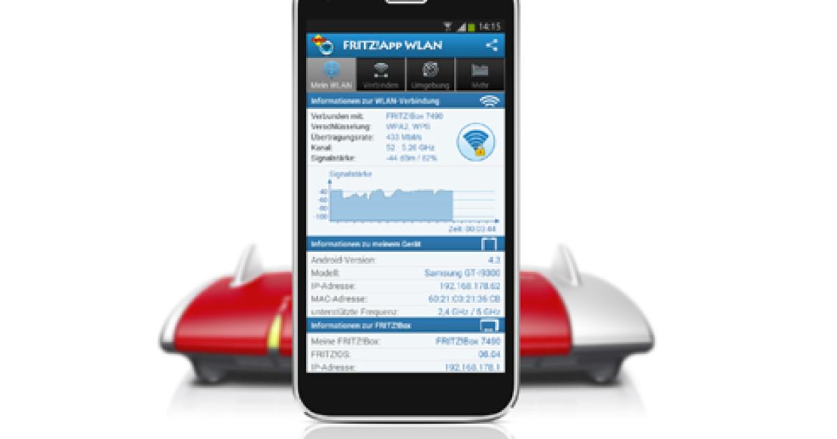 Fritzbox-App erleichtert die WLAN-Einrichtung - com