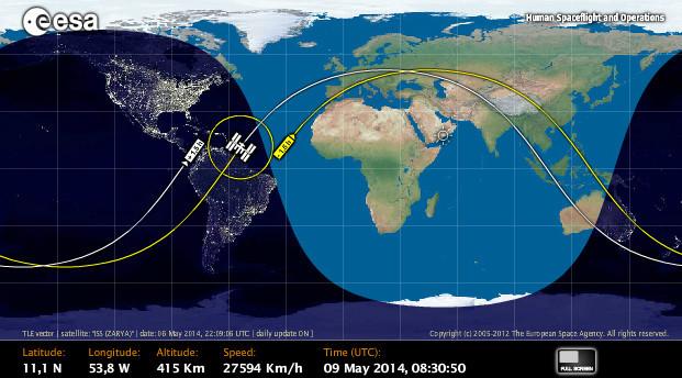 NASA streamt HD-Bilder live von der ISS - com! professional