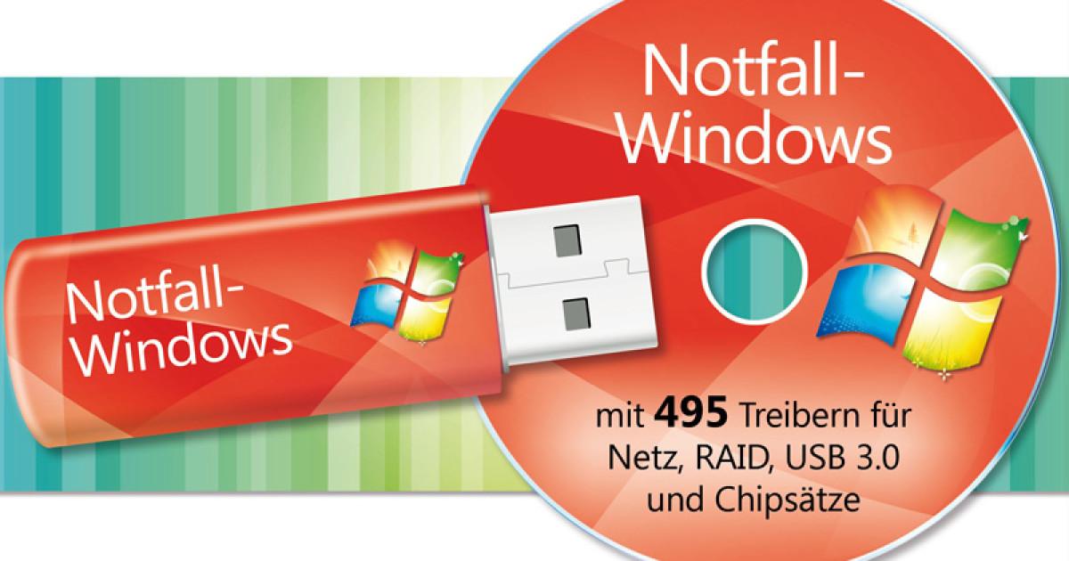 Notfall windows mit allen treibern com professional for 10 40 window definition