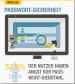 Angst vor Passwort-Diebstahl - Die Angst vor Passwort-Diebstahl ist im Vergleich zum Vorjahr von 52,6 Prozent auf 57,6 Prozent gestiegen.